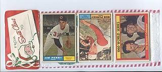 1961 Topps Baseball Unopened Christmas Rack Pack - World Series Winners