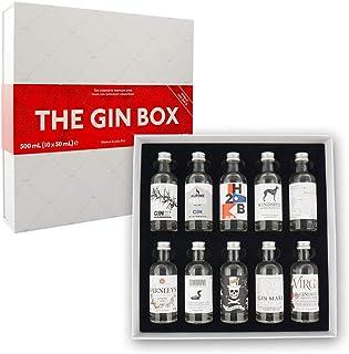 The Gin Box Tasting Set mit 10 Gin Sorten aus 10 Ländern Edition 2