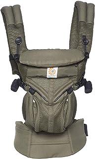 (跨境自营)(包税) ERGObaby Omni 全阶段型四式360婴儿背带 透气款 卡其绿 BCS360PGREEN