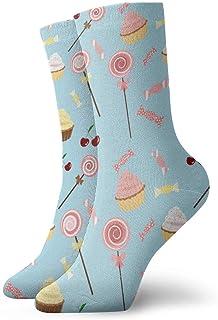 Elsaone, Niños Niñas Locos Divertidos Calcetines de pastel de caramelo Calcetines lindos de vestir de novedad