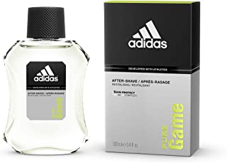 Adidas Sport Sensation Pure Game Aftershave Lotion for Men, 100 ml