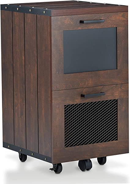 Wood Style Olivia File Cabinet One Size Vintage Walnut Decor Comfy Living Furniture Deluxe Premium Collection