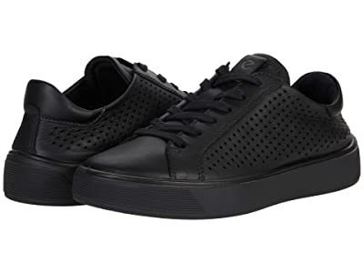 ECCO Street Tray Perforated Sneaker Women