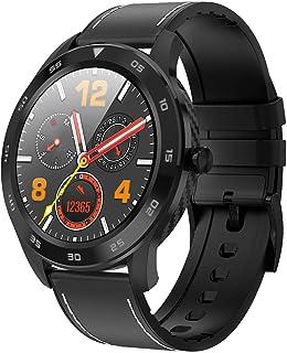 RNNTK Ip68 Es Resistente Al Agua Smartwatch Fitness Tracker Reloj Deportivo, Tomar Pulsómetro Dormir El Número De Pasos El Marcapasos Monitoreo Pulsera Inteligente-Negro