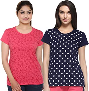 69GAL (105Women's T-Shirt (Multicolors) (Pack of 2) (S/M/L/XL/3CL/5XL)