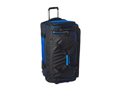 Travelpro BOLD by Travelpro 30 Drop Bottom Rolling Duffel (Blue/Black) Duffel Bags