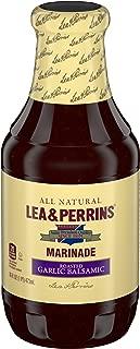 Lea & Perrins Marinade Roasted Garlic Balsamic, 16 oz.