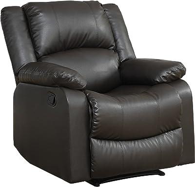 Relax A Lounger Warren Reclining Chair, Java