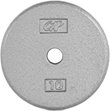 CAP Barbell Standard Free Weight Plate, 1-Inch, 10-Pound
