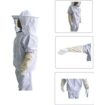 Xgunion Professional Beekeeper Suit (Jacket, Pants, Gloves)