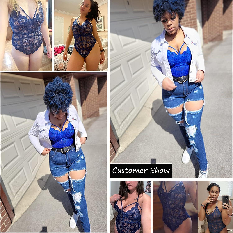 Avidlove Women Teddy Lingerie One Piece Babydoll Mini Bodysuit