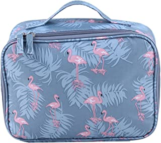 CH Cosmetic Case Bag Appropriate Capacity Portable Women Pouch Bags Wash Bags for Travel (Grey)