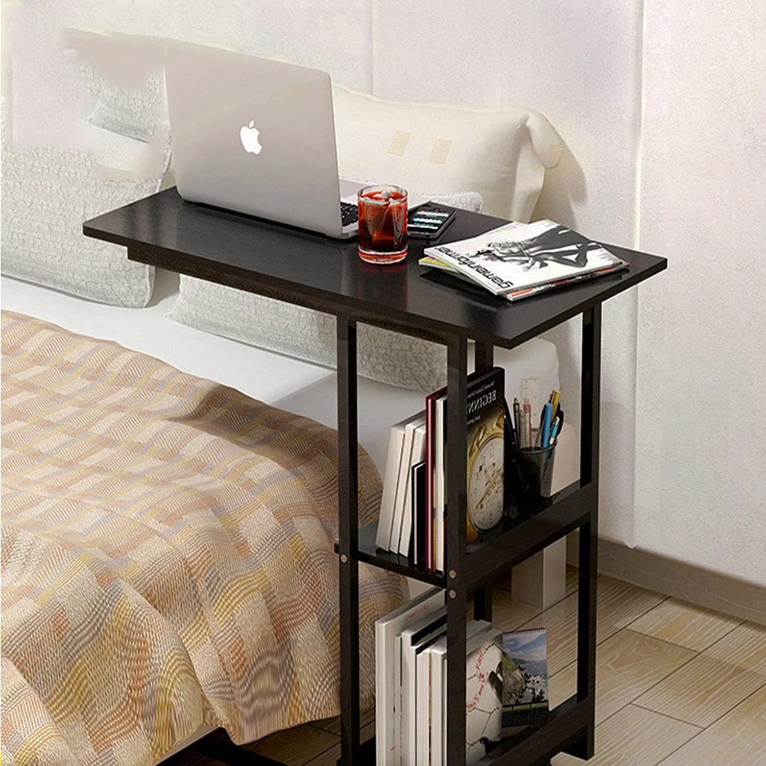 Multi-Function Table Bedside Laptop Table Mobile Computer Desk Dormitory Sofa Bed Balcony Lazy Storage Desk