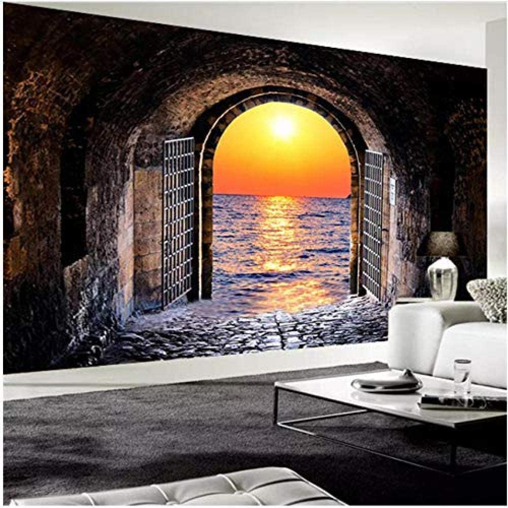 Clhhsy Waterproof Free Shipping New and Removable Custom Photo All items free shipping Stereo Wallpaper 3D