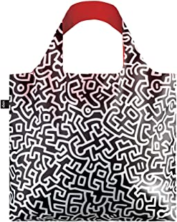 LOQI Museum Keith Haring Untitled Canvas & Beach Tote Bag, 50 cm, 20 L, Multicolour