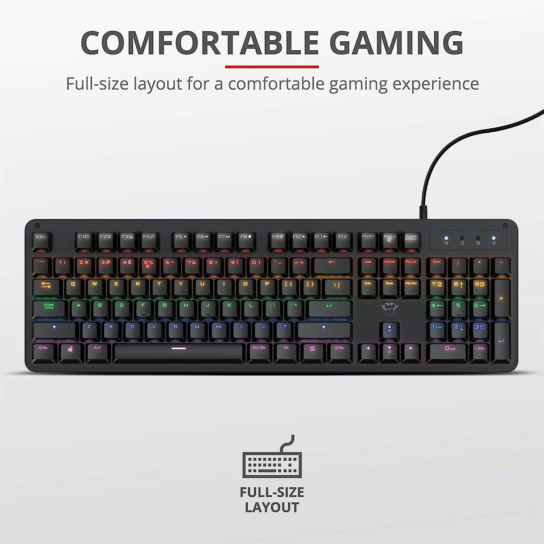 Teclado gaming mecánico económico y ultrarrápido