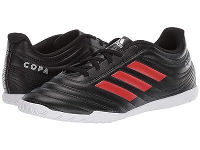adidas Copa 19.4 IN (Core Black/Hi-Res Red/Silver Metallic) Men