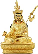 Decoration Lotus Buddha Statue Statues Religious Supplies Town House Evil Spirits 13×10×21cm Craft Ornament Buddha Decorat...