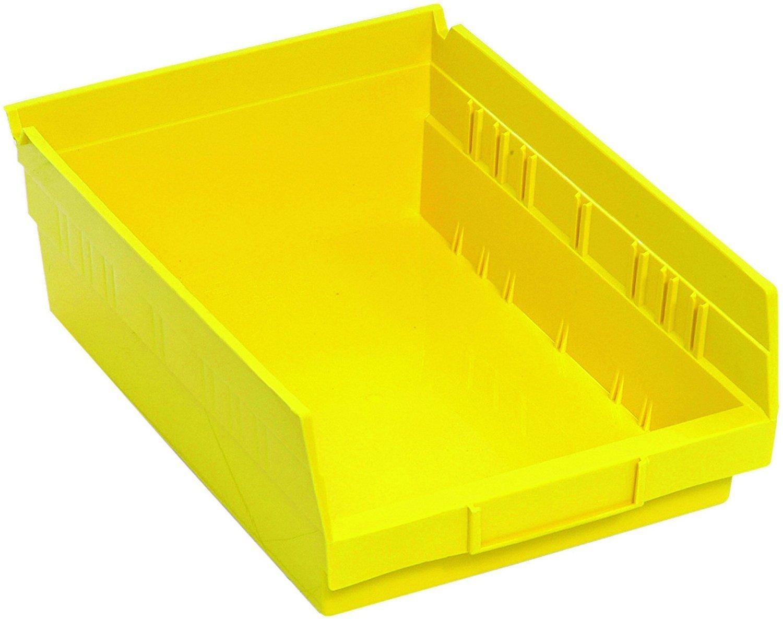 Quality inspection Quantum Storage K-QSB107YL-8 Genuine Free Shipping 8-Pack Hanging Shelf Plastic St Bin