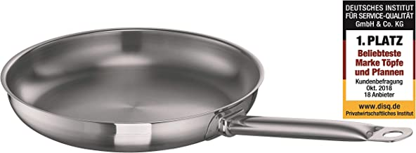 Schulte-Ufer Frying / Grill Pan Profi-Line i, Stainless Steel 18/10, 28 cm, 6451-28 i