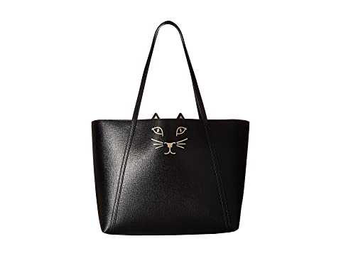 Shopper Black Olympia Charlotte Feline Olympia Charlotte wXTRqFEI