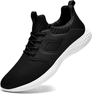 Sneakers for Men Lightweight Gym Shoes Mens Tennis Shoes Non Slip Walking Shoes Athletic Running Slip-On Shoes