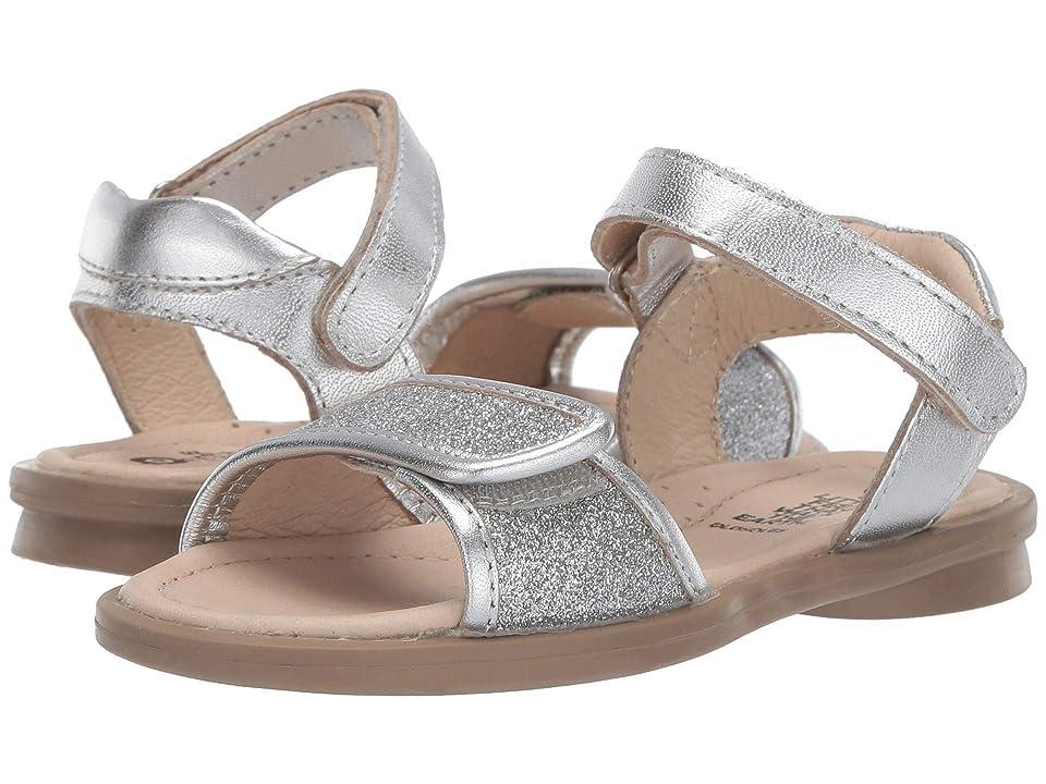 Old Soles Martini Sandal (Toddler/Little Kid) (Glam Argent/Silver) Girls Shoes