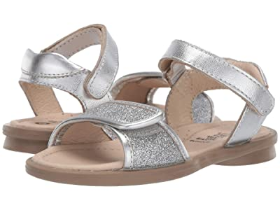Old Soles Martini Sandal (Toddler/Little Kid) (Glam Argent/Silver) Girls Shoes