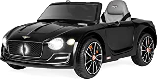 Best Choice Products Kids 12V Licensed Bentley EXP 12 Ride On Car w/ 2 Speeds, Lights, AUX, Black