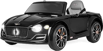 Best Choice Products Kids 12V Licensed Bentley EXP 12 Ride On Car w/ 2 Speeds, Lights, AUX, Black