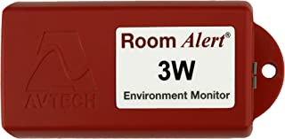 Room Alert 3 Wi-Fi Temperature & Environment Monitor - 24/7 online & software alerting and reporting to prevent downtime, Made in the USA