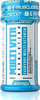 Musclesport Multi Vita Revolution™ 60 Capsules, Full Spectrum 2-a-Day Multivitamin
