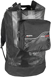 Mares Cruise Mesh Back Pack Deluxe Suitcase - Black/black