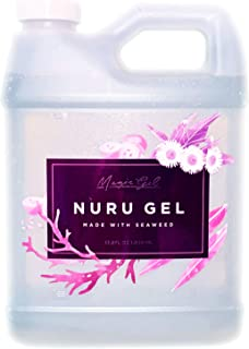 Magic Gel Nuru Massage Therapy Gel | Naturally Stain, Flavor and Fragrance Free | Ideal for Massage, Sore Muscles, Dry Ski...