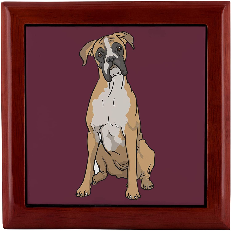 Dog Lover Mom Dad Gifts Corgi Dog Small Jewelry Storage Box for Women Girls