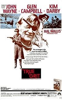 True Grit Kim Darby John Wayne Glen Campbell 1969 Movie Poster Masterprint (11 x 17)