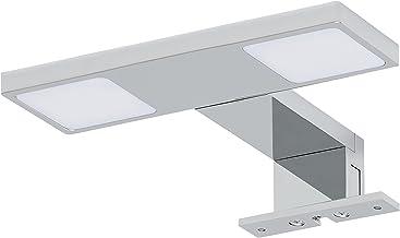 Tiger Kronos LED Spiegelverlichting, Metaal, Chroom, 18 x 3,5 x 13 Cm