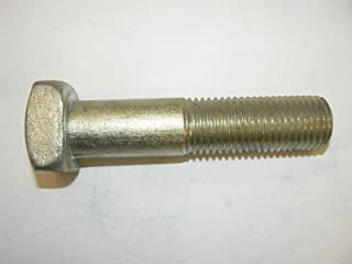 Plain Square Head 1-1//4-7 X 6 10 pcs Machine Bolts Steel