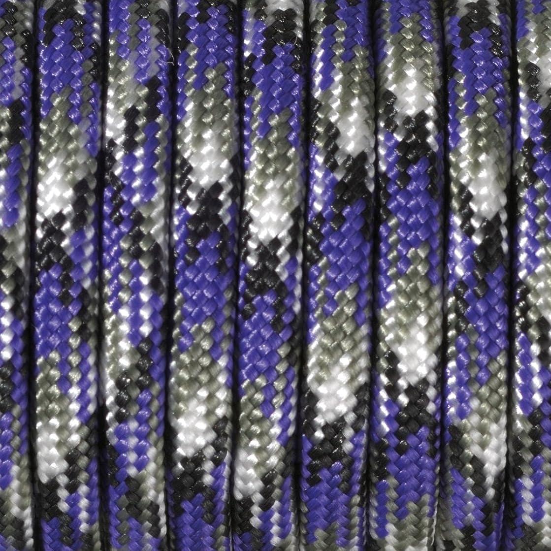 Efco Colour Mix 550 Paracord Rope, Polyester Blend, Mauve, 4 mm x 4 m