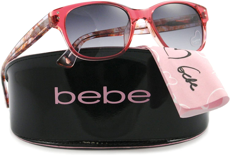 Bebe Sunglasses BB 7035 pink 001 pink CHARISMATIC