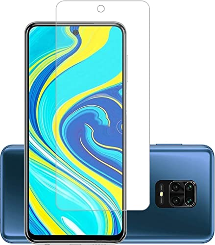 BEHAV Tempered Glass for Mi Redmi Note 9 Pro Note 9 Pro Max Poco M2 Pro Poco X3 Samsung Galaxy M51 A71 Note 10 Lite with Front Camera Punch Hole Transparent Except Edges