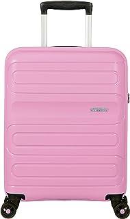 American Tourister 114140 Sunside Hardside Spinner Suitcase, 55 Centimeter, Pink Gelato