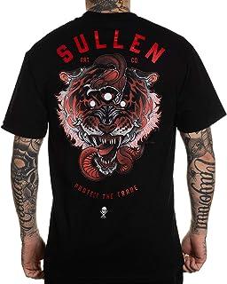 Sullen Men's 3 Eye Tiger Short Sleeve T Shirt