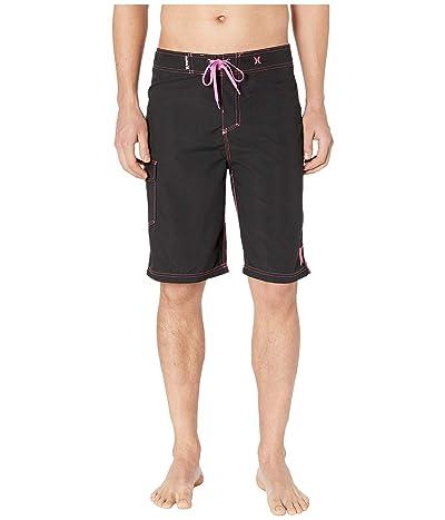 Hurley One Only Boardshort 22 (Black/Digital Pink) Men