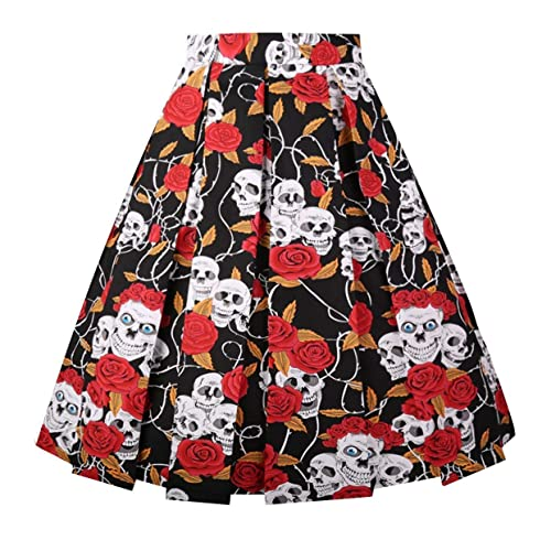 To Be Distributed All Over The World Skirts Vintage 100% Cotton Volume Skirt Size M With Tags Women's Clothing