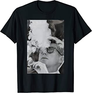 JFK Smoking with Shades John F. Kennedy President T-Shirt T-Shirt