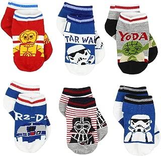 Star Wars Boys 6 pack Socks (Toddler)