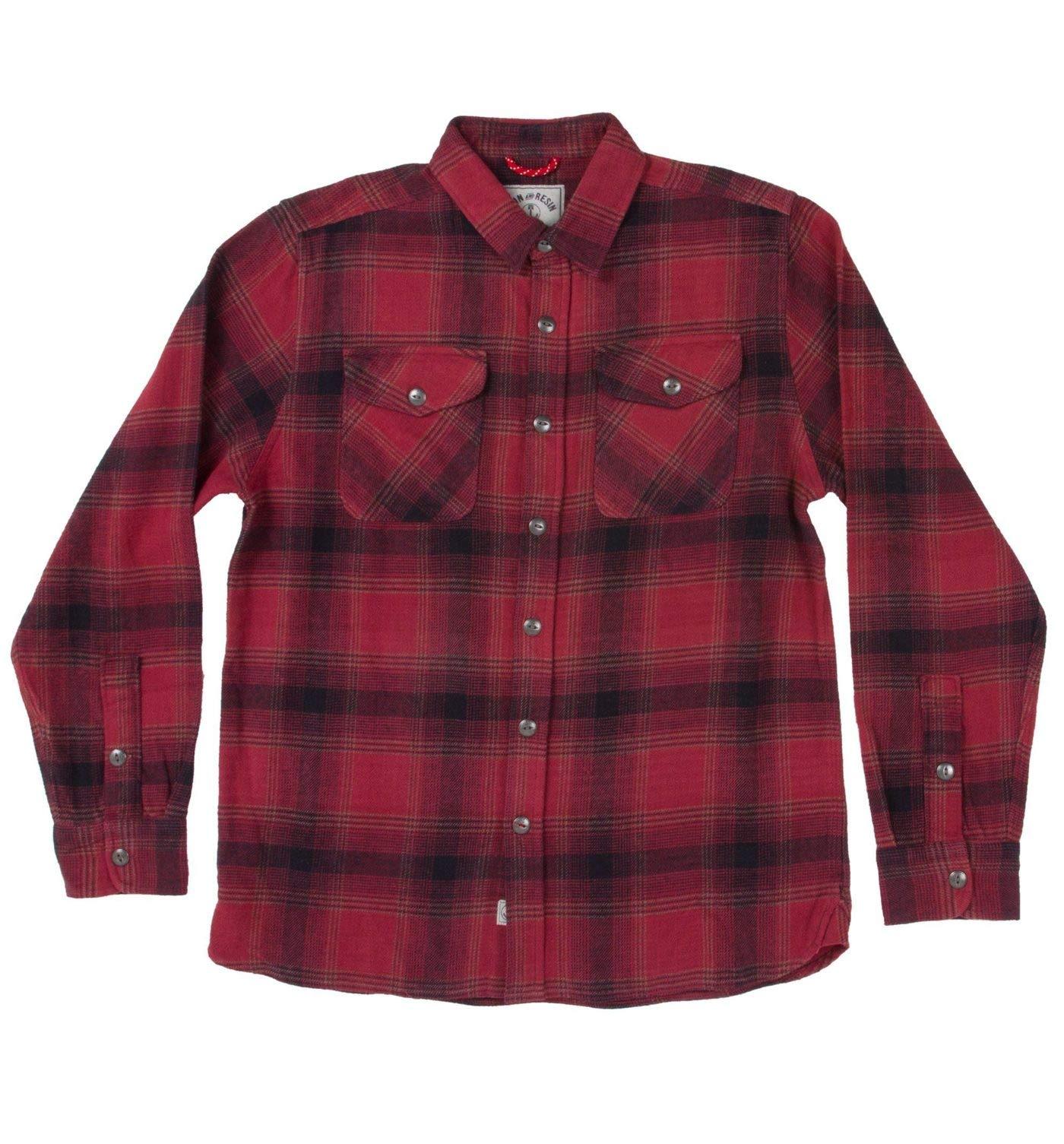 Camisa de Franela de Hierro y Resina Rockland, S, Sangre de Toro: Amazon.es: Deportes y aire libre