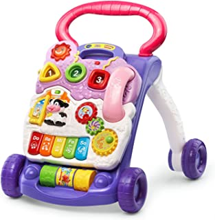 VTech Sit-to-Stand Learning Walker, Lavender – (Frustration Free Packaging) (Amazon Exclusive)