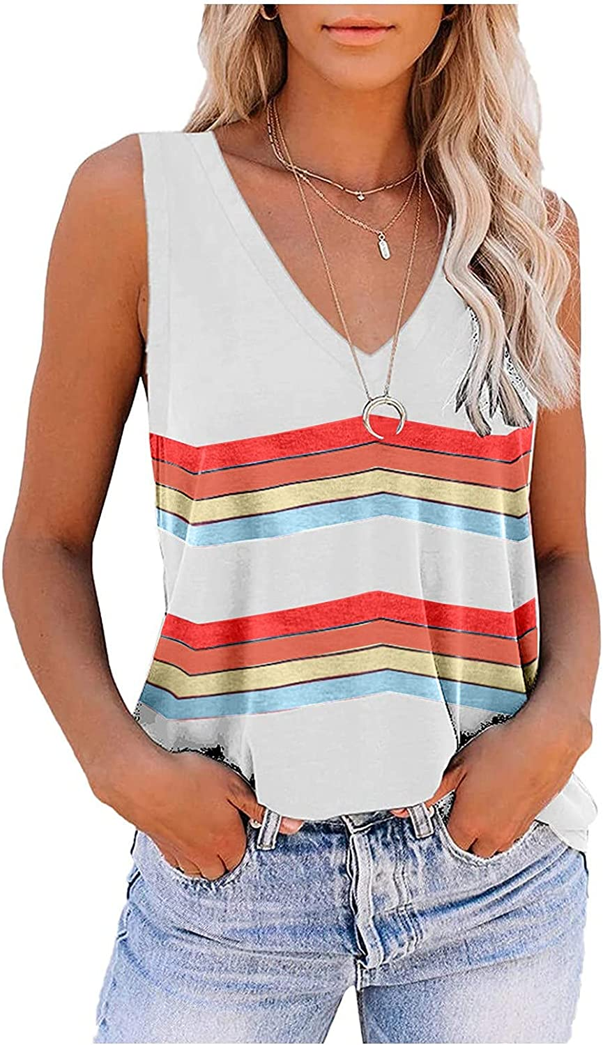 MASZONE Womens Scoop Neck Henley Tank Tops Low Cut Solid Sexy Top Summer Sleeveless Button Down Shirts Trendy T Shirts
